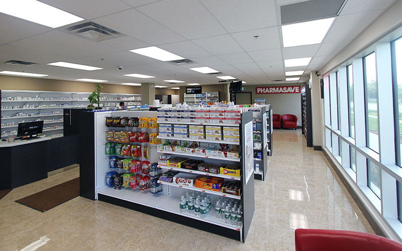 Nixon Medical - Pharma Save, pharmacy area with shelves for product